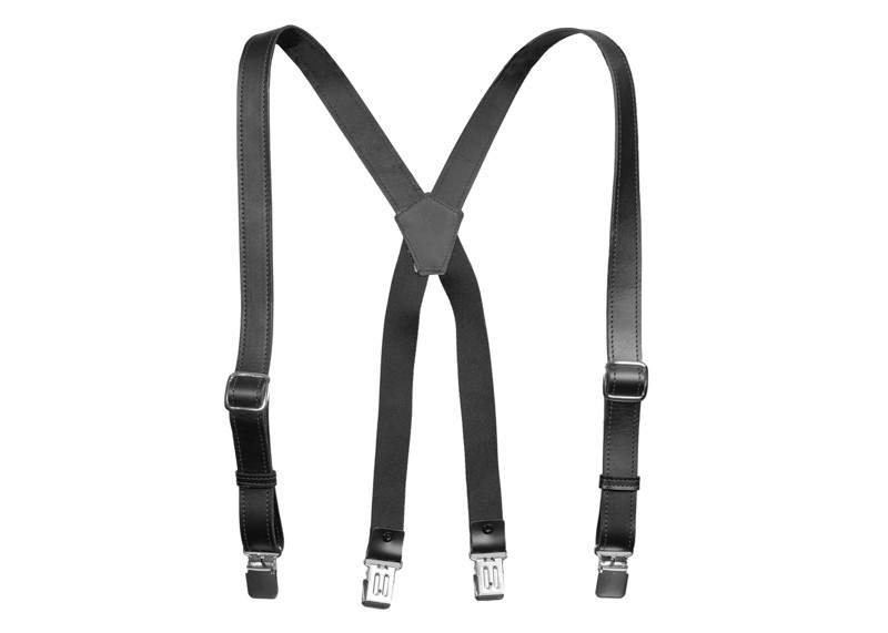american made suspenders black