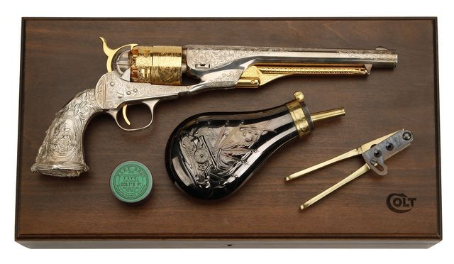 Take care of your black powder revolvers