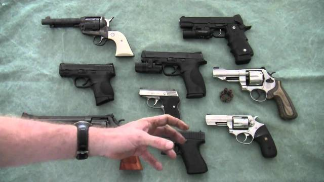 handgun sectional density