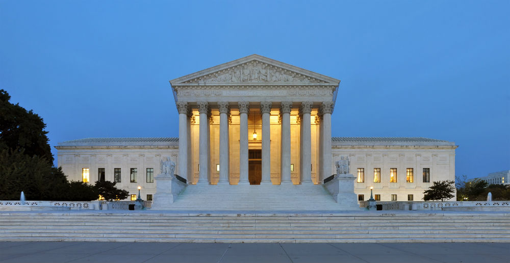 The Supreme Court of the United States historic building