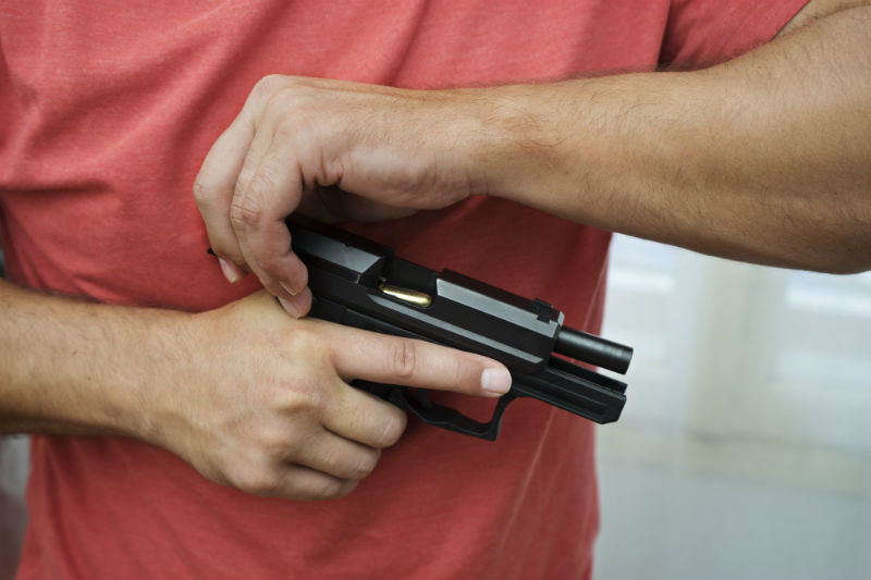 how to adjust handgun
