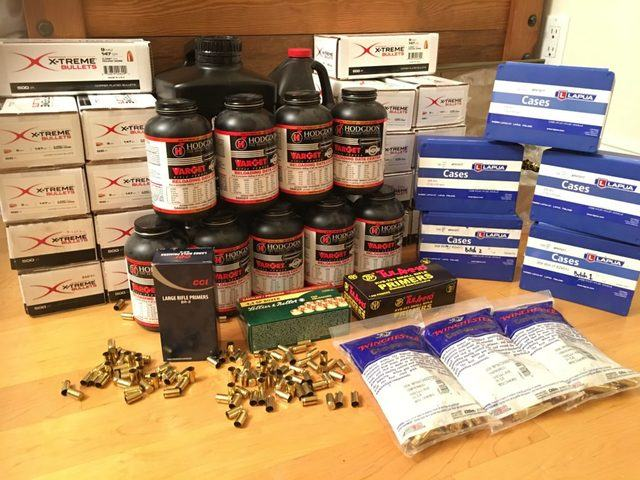 supplies for reloading ammo