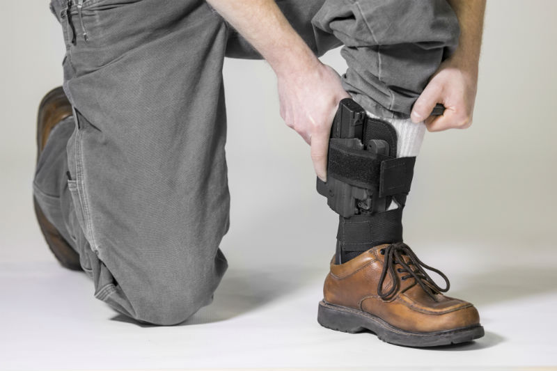 The Good, the Bad, and the Ugly of Ankle Holsters for Concealed Carry | Gun  Belts Blog