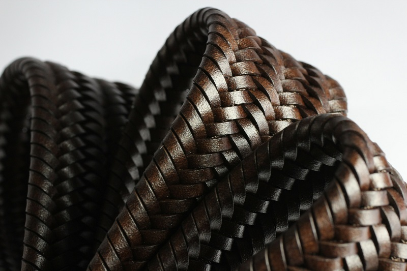 leather basket weave belt for ccw
