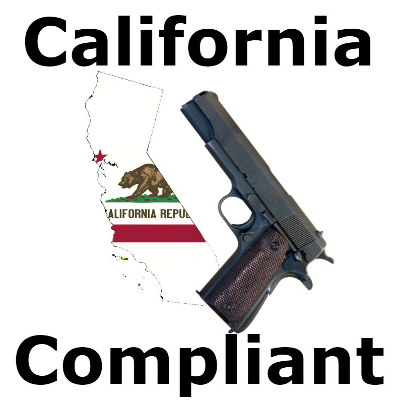 california compliant gun laws