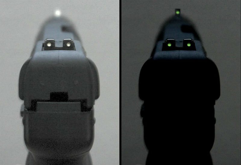 front pistol sights