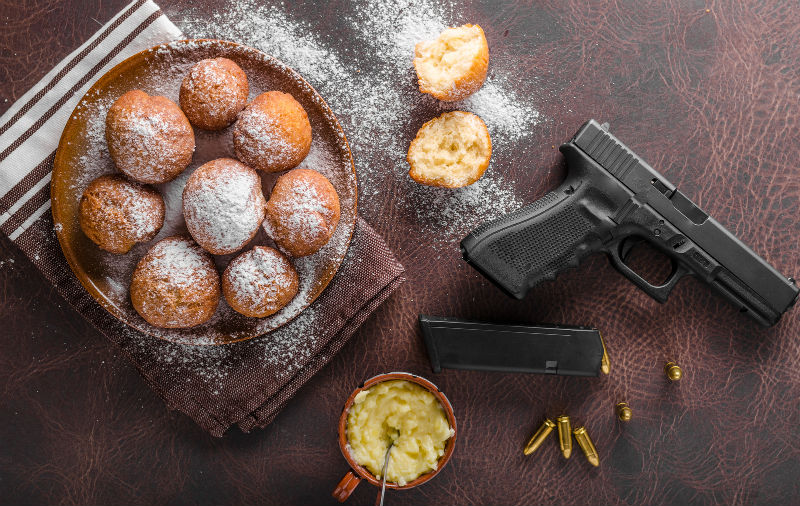 delivery food and concealed carry