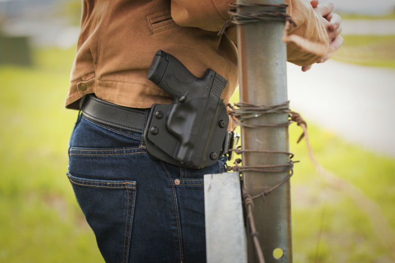 open carry holster retention