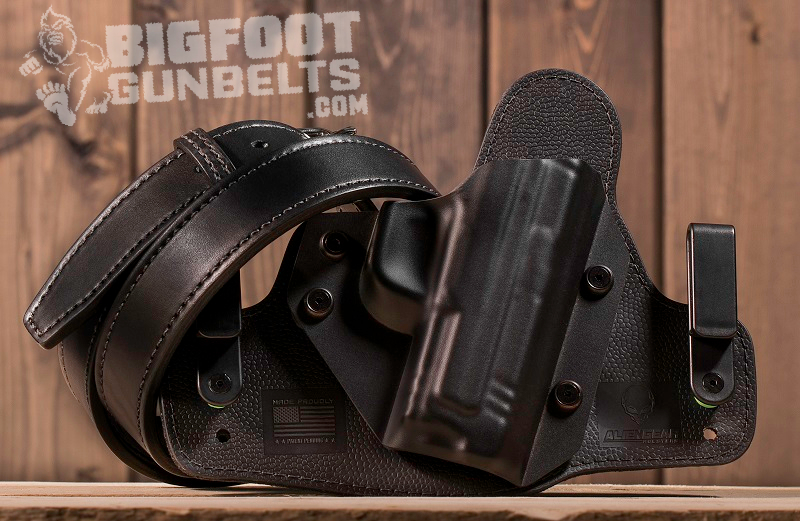 gun belt and holster