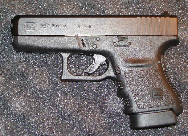 glock 36 and 30 45 gun