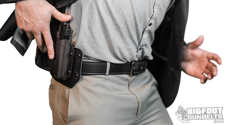 secure holster retention