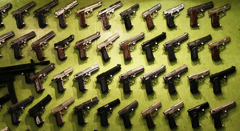 buying guns with tax money