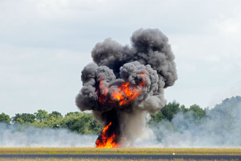 tannerite and fires