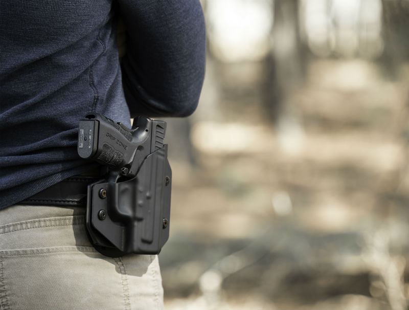 holster retention